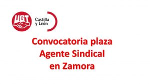 plaza agente sindical