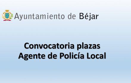 Ayto bejar policia 0ct-2018