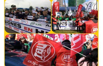 Éxito tercera jornada huelga general prisiones