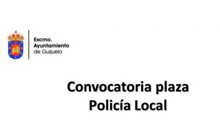 Ayto Guijuelo Policia nov-2018