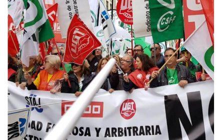 El 80 secunda huelga reforma LOPJ