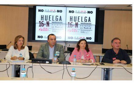 UGT llama huelga Justicia derechos laborales