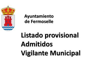 Ayto Fermoselle prov vigilante