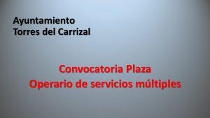 Ayto Torres Carrizal operario