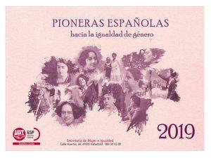 Calendario Pioneras 2019