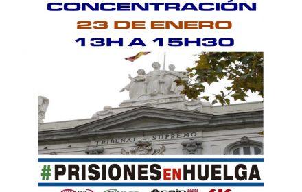 Concentración IIPP 23-01-2019 Tribunal Supremo