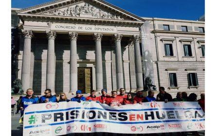 Concentración sindical Congreso Diputados