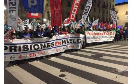 Manifestación plataforma sindical Salamanca