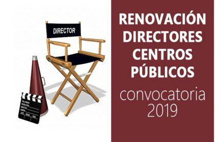 Renovación Directores Centros Públicos 2019