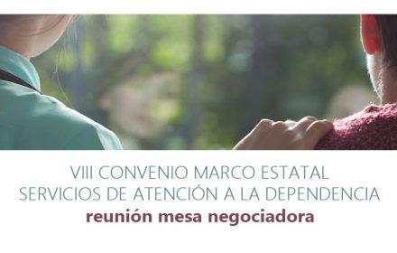 mesa negociadora VIII Convenio Marco dependencia