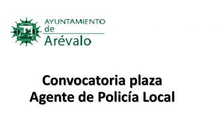 Ayto arévalo plaza policia