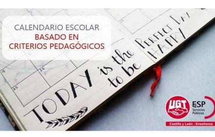 propuesta calendario escolar criterios pedagógicos