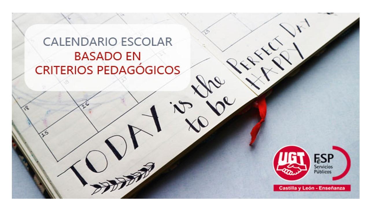 Calendario Escolar 2020 Cyl.Fesp Ugt Zamora Propuesta De Calendario Escolar Basado En
