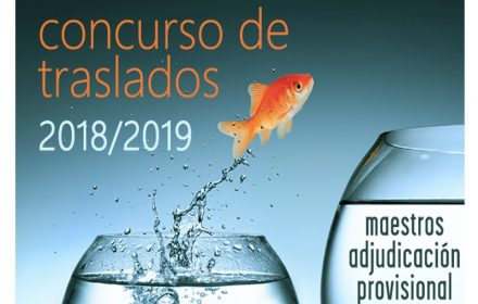 Concurso traslados Maestros provisional 2018-19