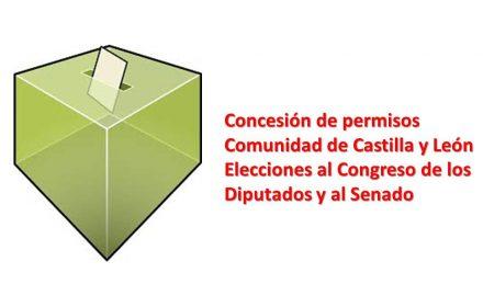 permisos elecciones grales