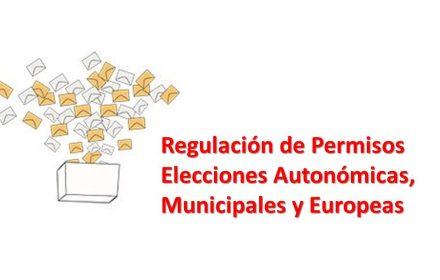 permisos elecciones locales