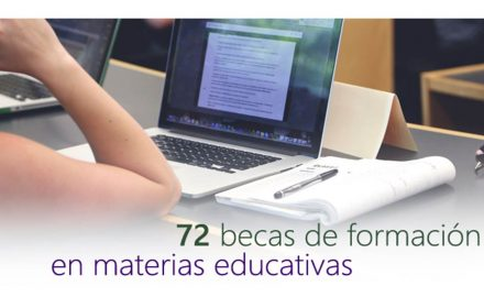 72 Becas formación materias educativas