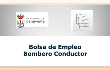 Ayto benavente Bolsa bombero may-2019