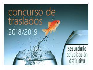 Concurso traslados def Inspectores Secundaria 2018-19