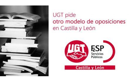 UGT otro modelo oposiciones en CyL