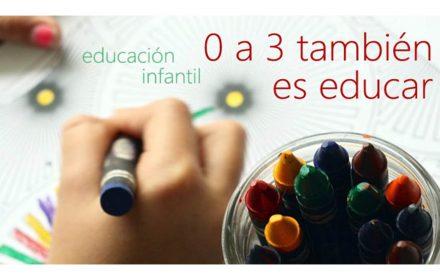 Educación infantil 0 a 3 educar