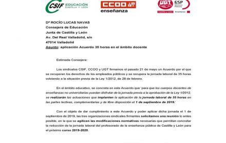 Carta Consejera Educación