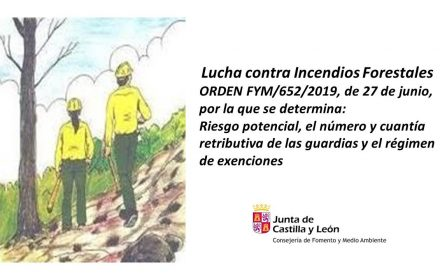 orden forestales guardias 2019