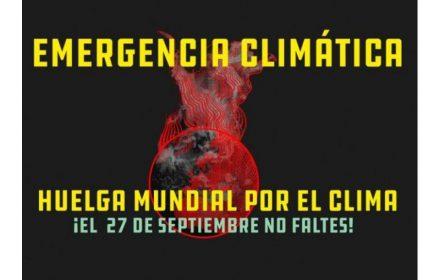 27S HUELGA mundial clima