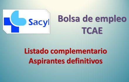 Bolsa tcae complementario def sep-2019