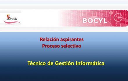 aspirantes Técnico Gestión Informática sep-2019