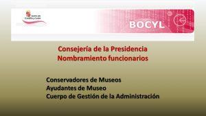 nombramiento funcionarios sep-2019