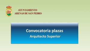 Ayto arenas san pedro arquitecto oct-2019