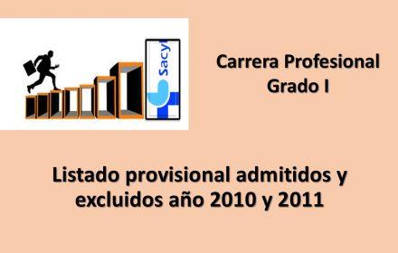 Carrera Profesional prov 2010-11 grado I oct-2019