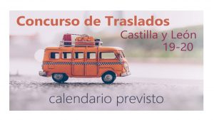 traslados Enseñanza 19-20 Calendario