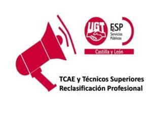 TCAE y TS Reclasificación profesional