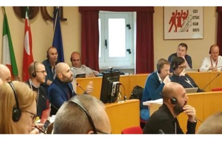 Bomberos reunión EPSU cambio climático