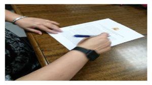 firma el Acuerdo empleo temporal AGE