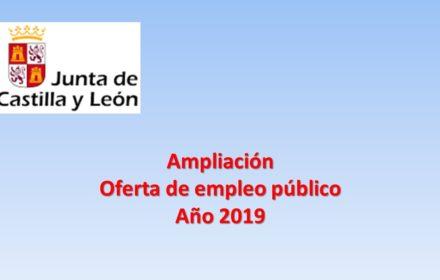 oep amliacion 2019