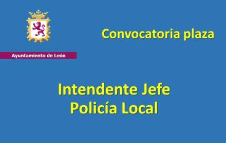Ayto Leon jefe policia