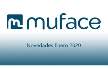 MUFACE Novedades enero 2020