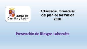 actividades formacion prl 2020