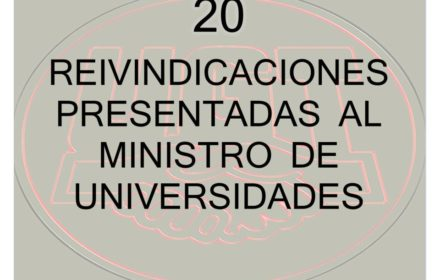 20 Reivindicaciones Ministro Universidades