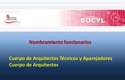 nombramientos arquitecto y aparejador feb-2020
