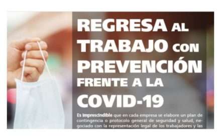 Regresa trabajo prevención COVID-19