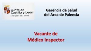Vacante medico inspector jun 2020