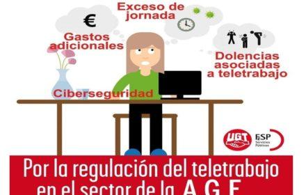 regulación teletrabajo AGE Propuestas