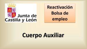 Bolsa reactivacion Cuerpo aux jul-2020