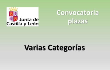 Convocatoria varias categorias jul-2020