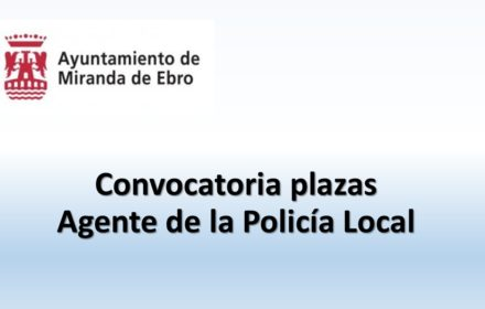 Ayto Miranda plazas policia ago-2020