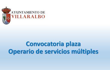 Ayto Villaralbo Operario serv ago-2020